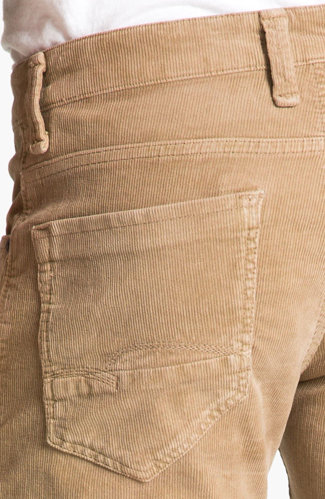 Alternate Image 3  - Mavi Jeans 'Zach' Straight Leg Corduroy Pants