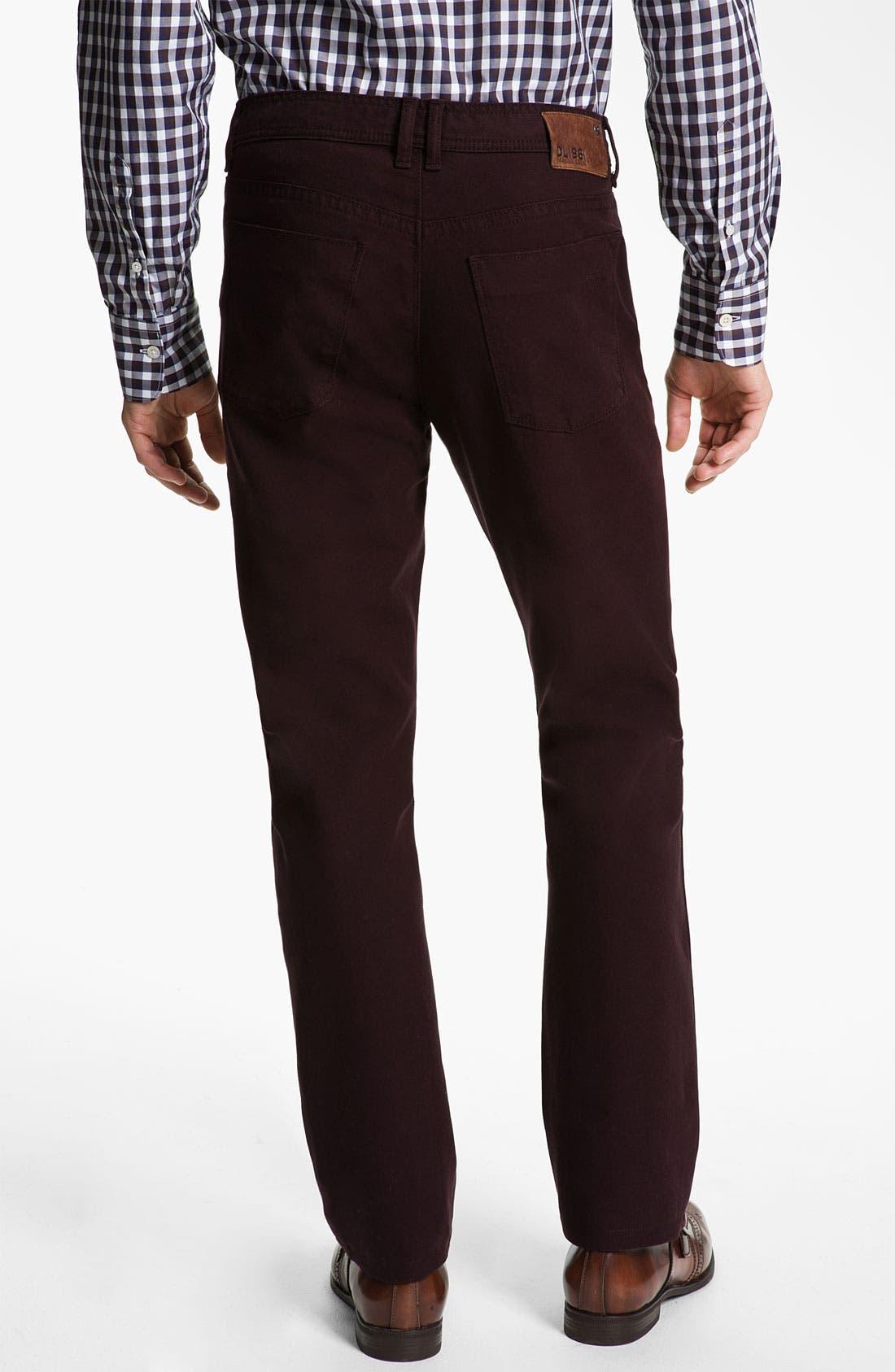 Alternate Image 2  - DL1961 'Vince' Straight Leg Jeans (Redwood) (Online Only)