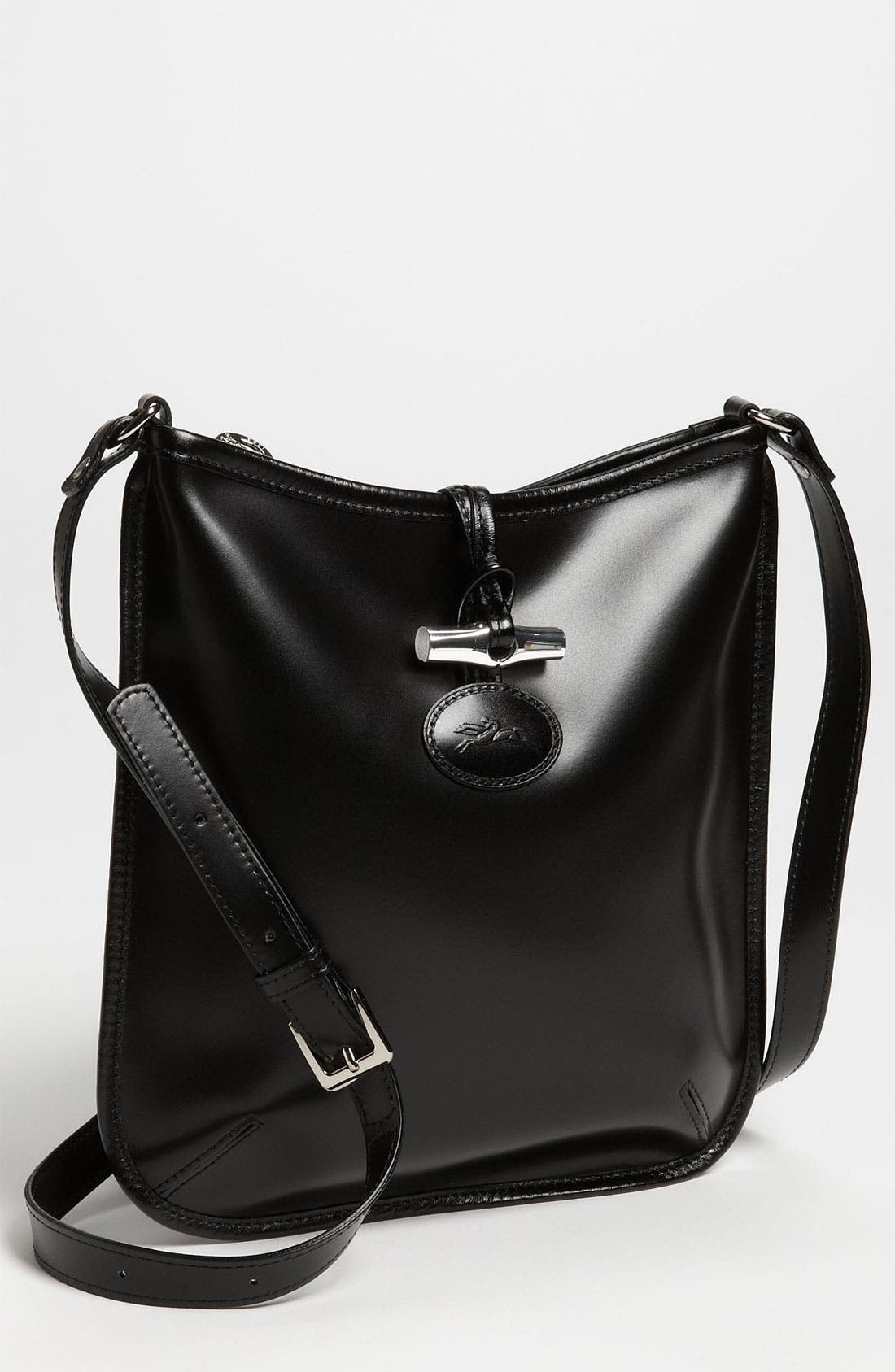 Main Image - Longchamp 'LM Jacquard' Crossbody Bag
