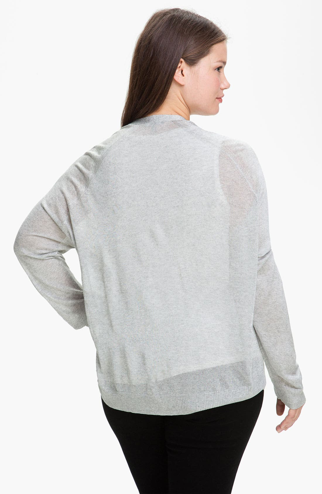Alternate Image 2  - Eileen Fisher 'Shine' Cardigan (Plus)