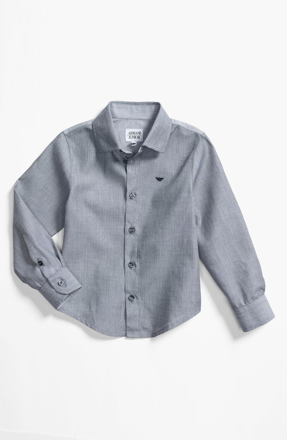 Alternate Image 1 Selected - Armani Junior Dress Shirt (Little Boys)