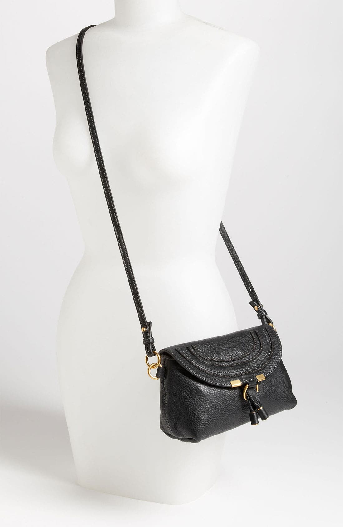 Alternate Image 2  - Chloé 'Marcie' Calfskin Leather Crossbody Bag