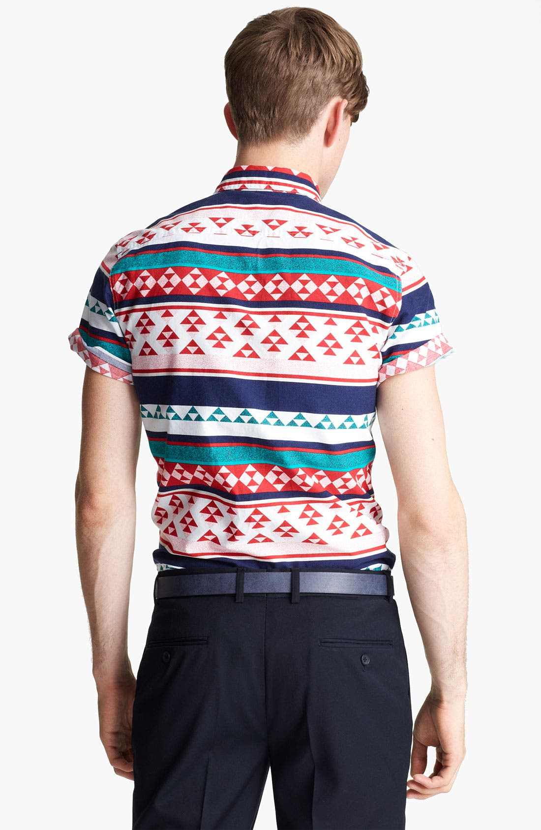 Alternate Image 2  - Topman 'High Roller' Pattern Shirt