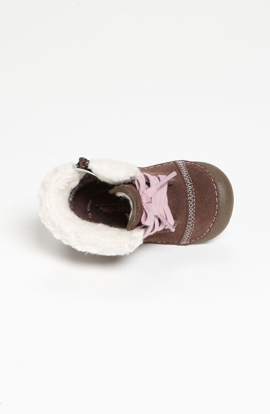 Alternate Image 3  - Stride Rite 'Cozy Crystal' Bootie (Baby & Walker)