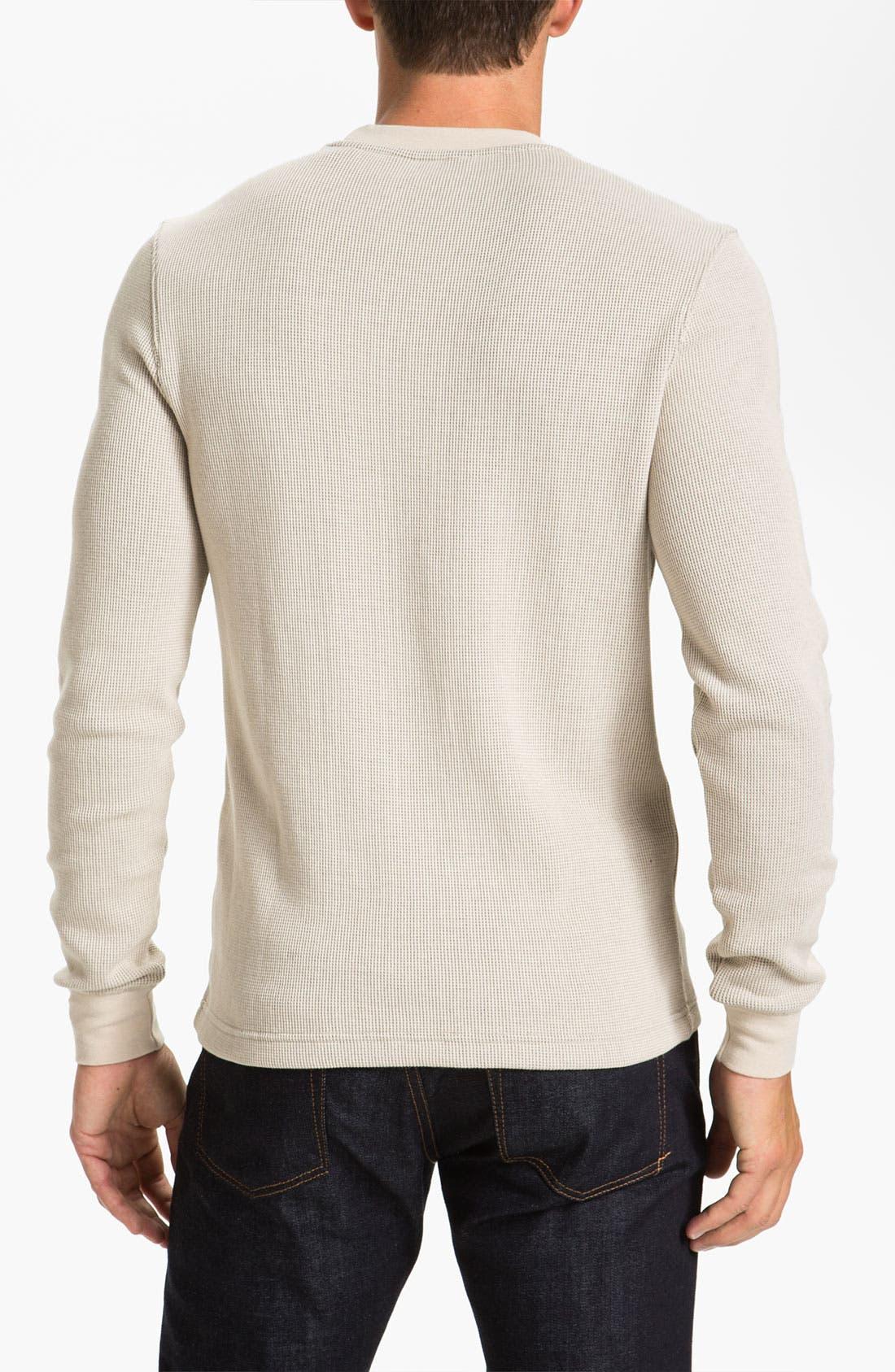 Alternate Image 2  - Original Penguin 'Bernardo' Crewneck Thermal T-Shirt