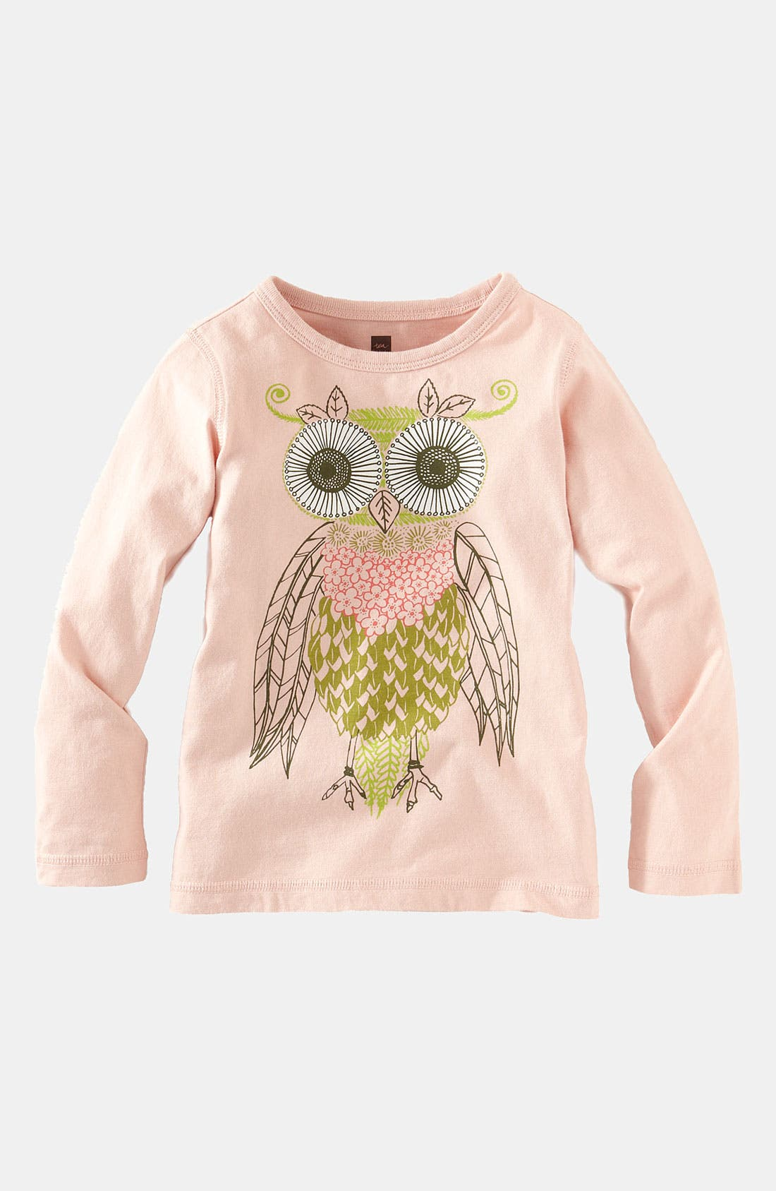 Main Image - Tea Collection 'Blomma' Owl Tee (Infant)