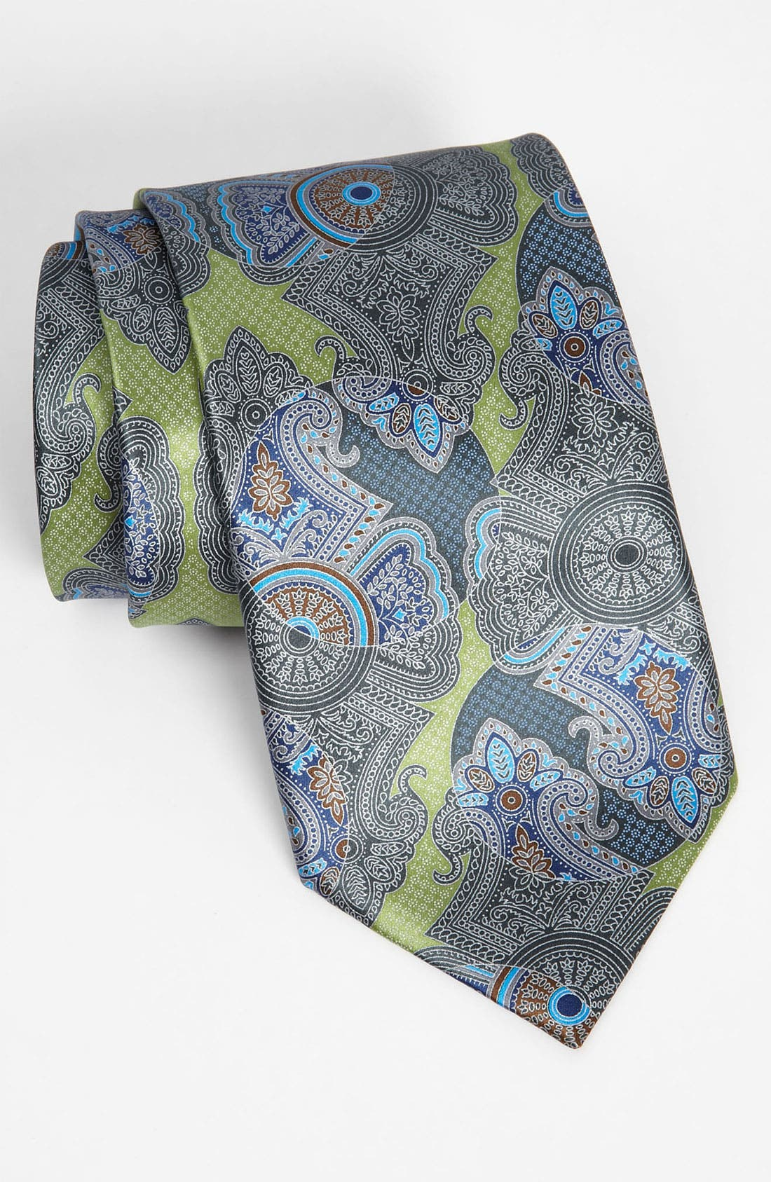 Alternate Image 1 Selected - Ermenegildo Zegna Print Silk Tie