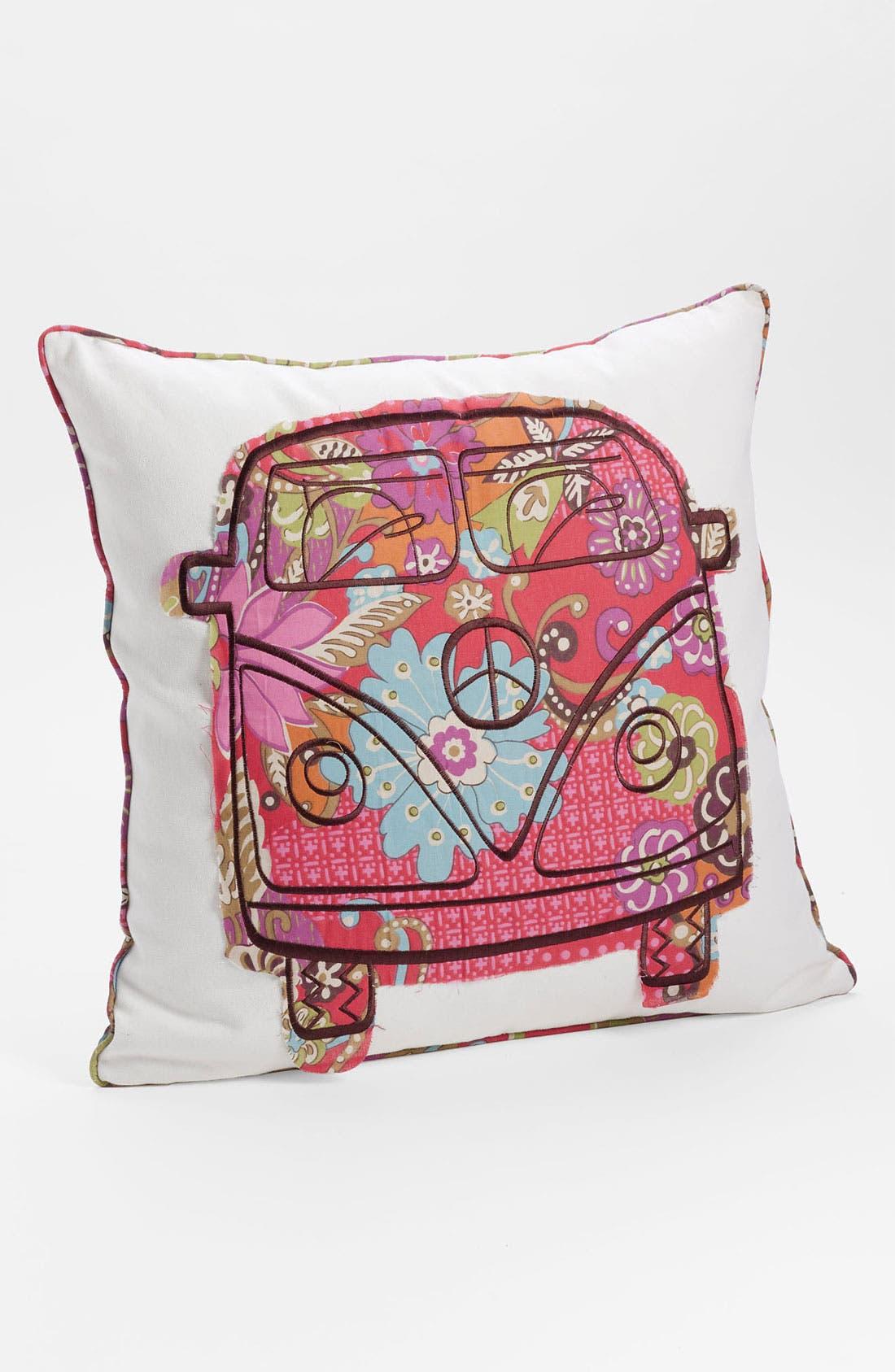 Alternate Image 1 Selected - Levtex 'Bus' Appliqué Pillow