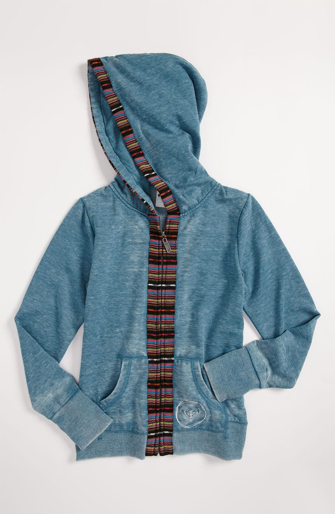 Alternate Image 1 Selected - Roxy 'Hola' Burnout Hoodie (Big Girls)