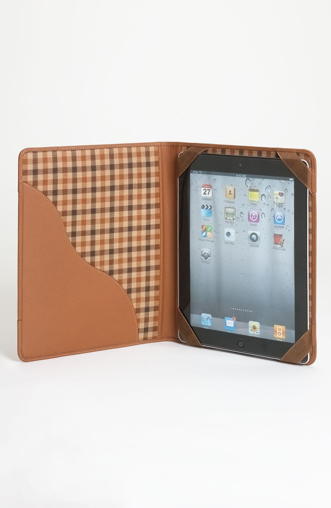 Alternate Image 3  - Ghurka Flap Over iPad Case
