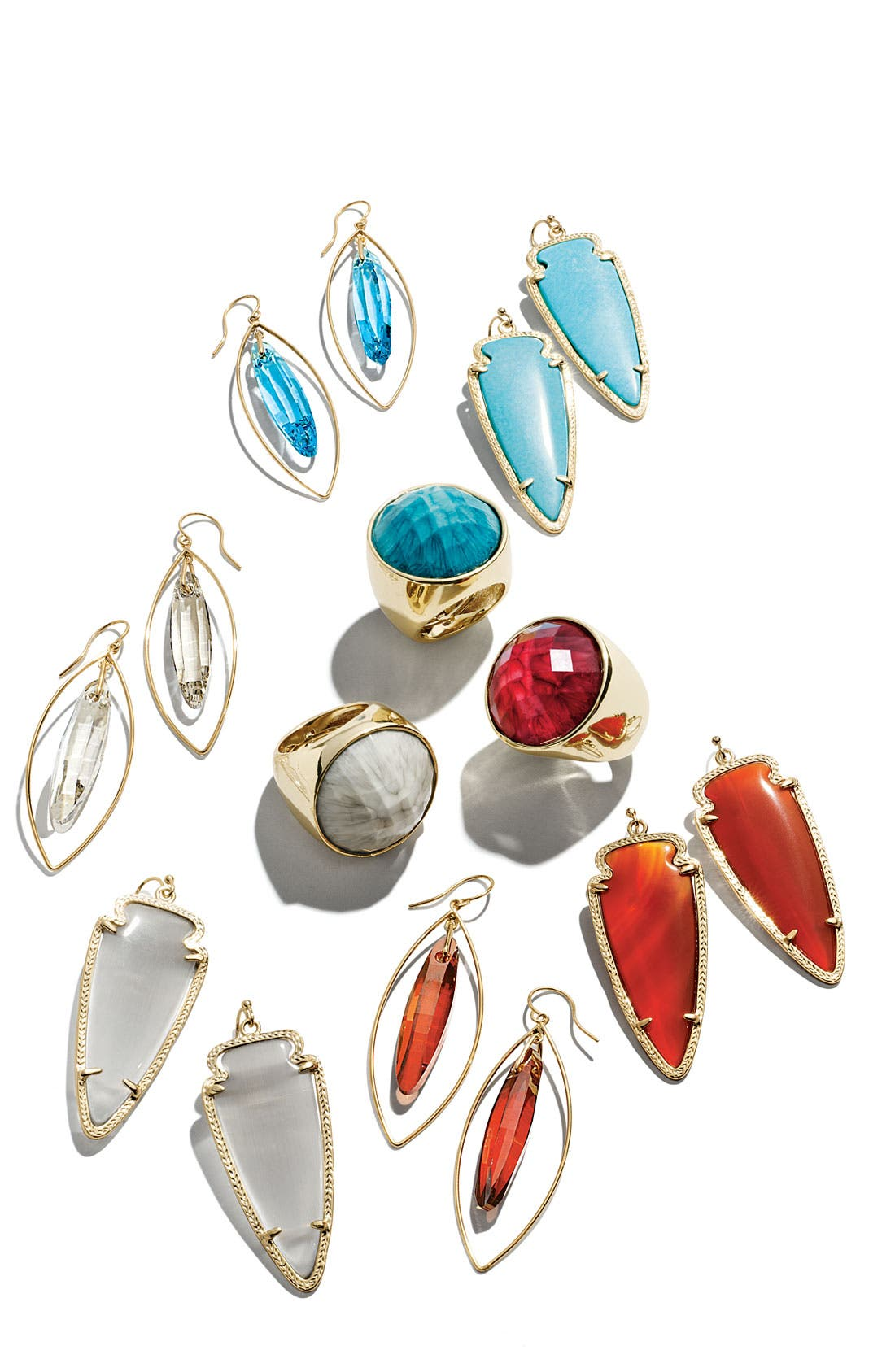 Alternate Image 3  - Kendra Scott Skylar Spear Statement Earrings