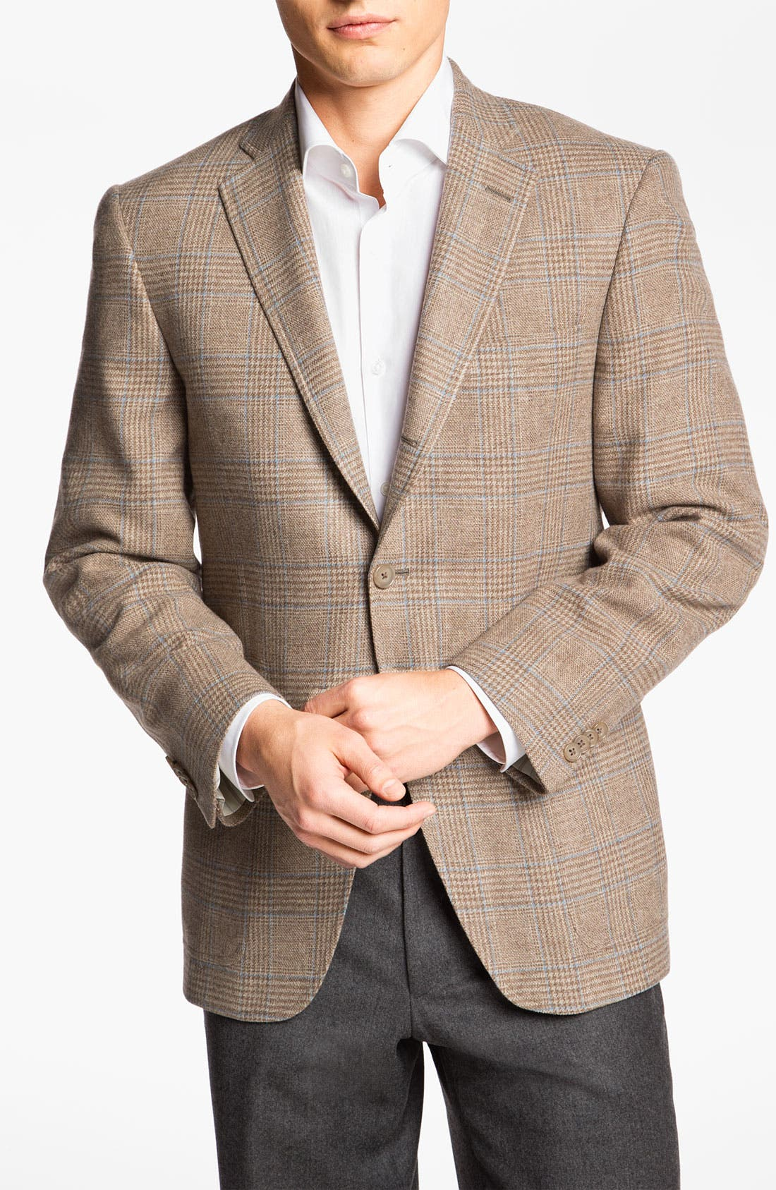 Alternate Image 1 Selected - Hart Schaffner Marx Plaid Sportcoat
