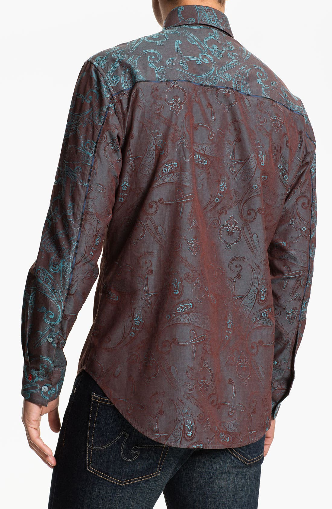 Alternate Image 3  - Robert Graham 'Kingdom' Sport Shirt
