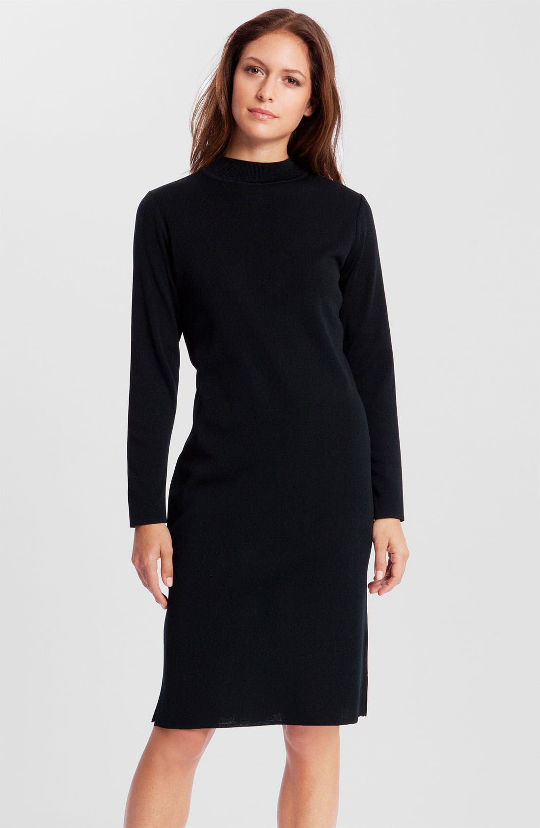 Main Image - Ming Wang Mock Neck Dress