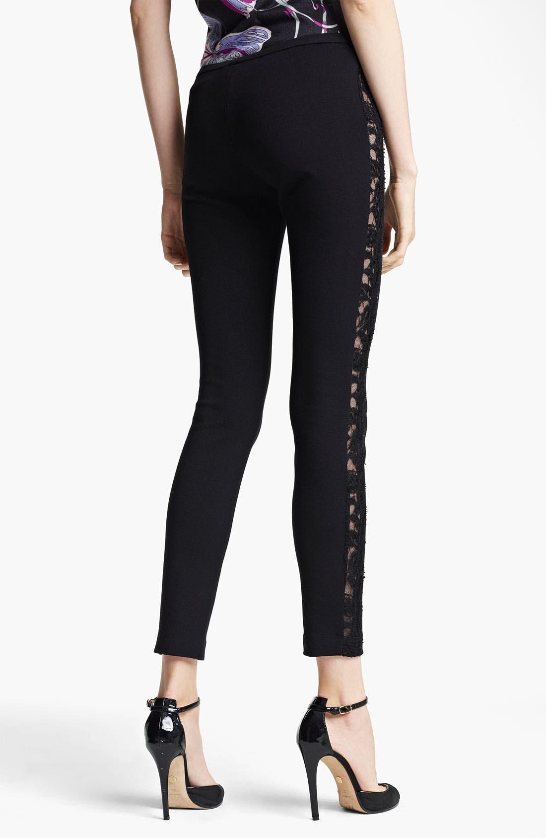 Alternate Image 2  - Emilio Pucci Lace Stripe Pants