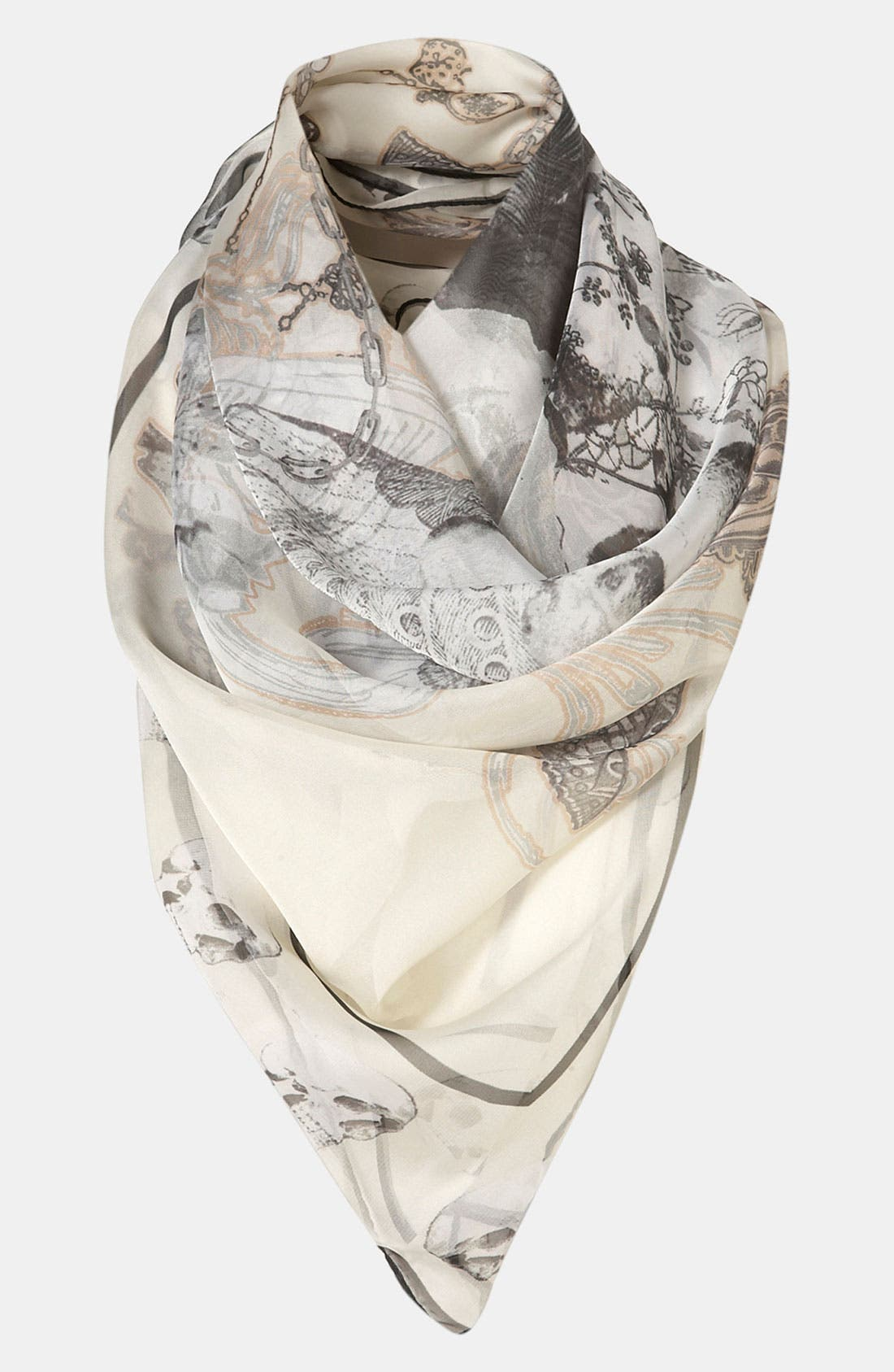 Alternate Image 1 Selected - Topshop 'Skull' Scarf