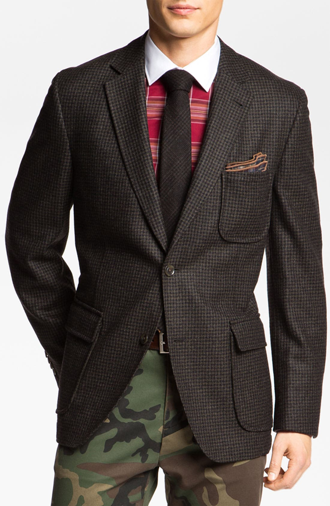 Alternate Image 1 Selected - Kroon 'Harrison' Wool Sportcoat