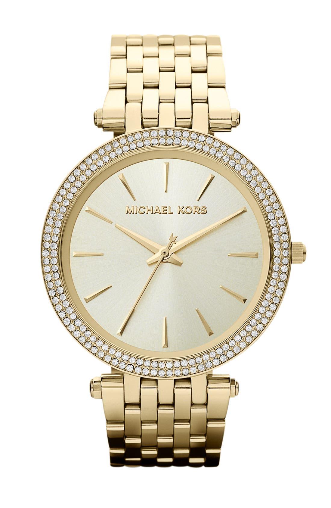 Michael Kors 'Darci' Round Bracelet Watch, 39mm