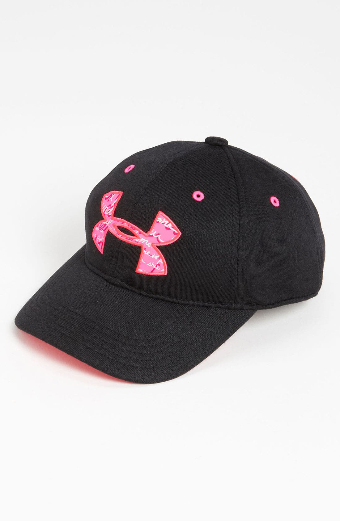 Main Image - Under Armour Adjustable Cap (Girls)