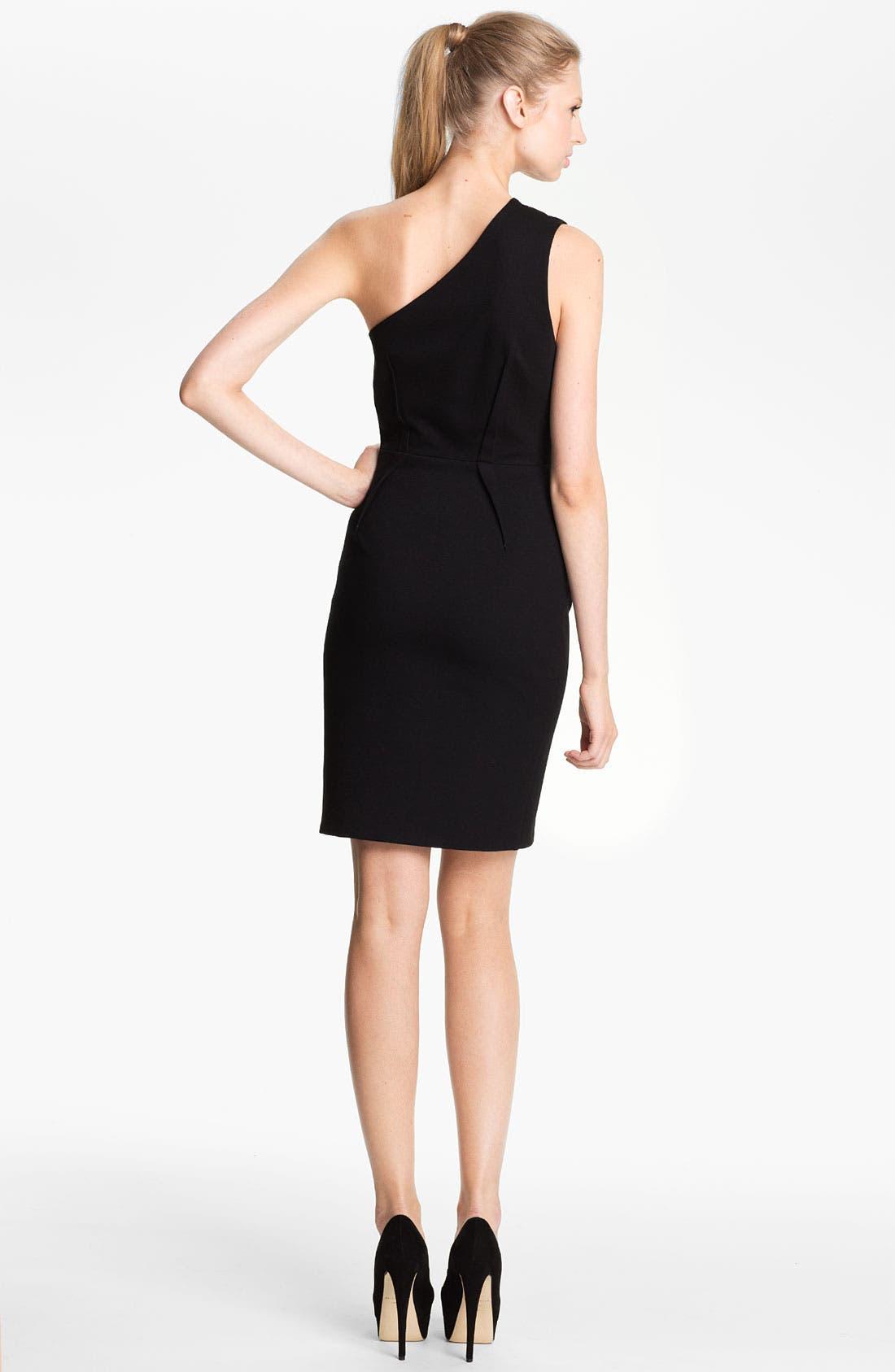 Alternate Image 2  - camilla and marc 'Genevieve' One Shoulder Ponte Dress