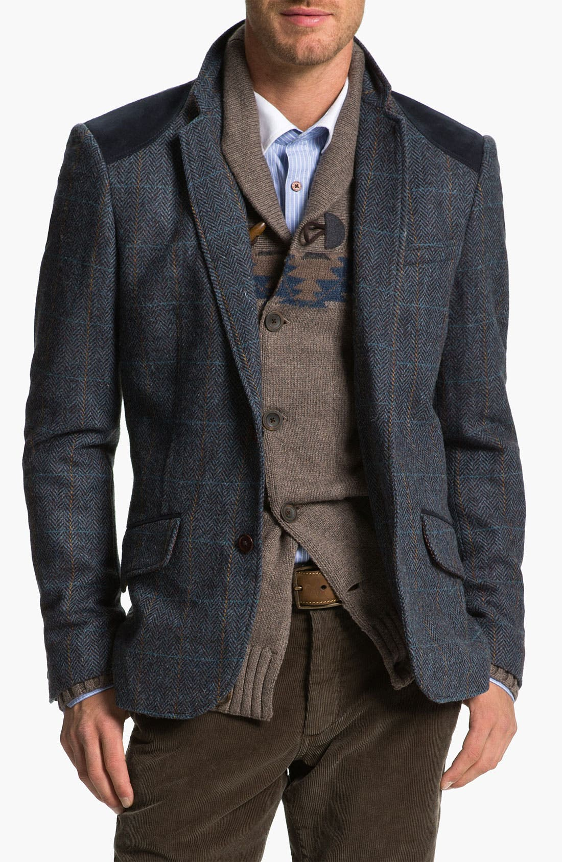 Alternate Image 1 Selected - Ted Baker London 'Rythjak' Shetland Wool Blazer