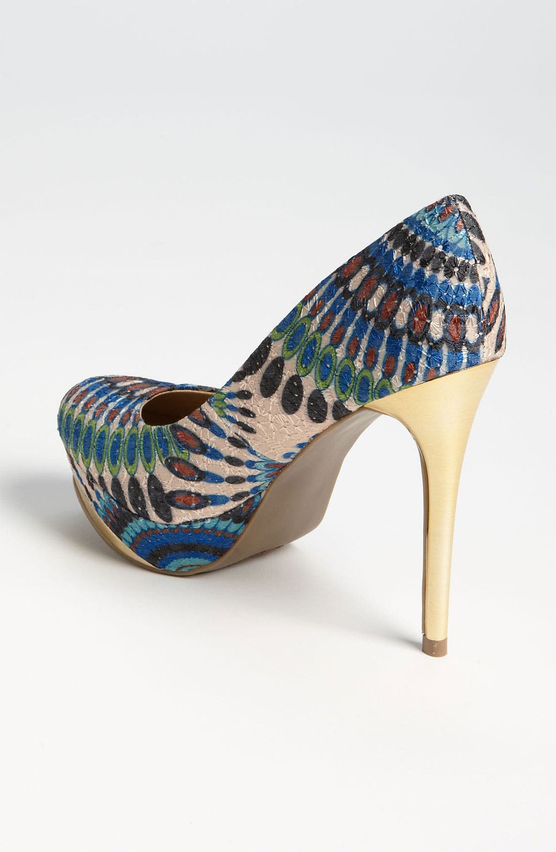 Alternate Image 2  - ZiGi girl 'Peacock' Pump