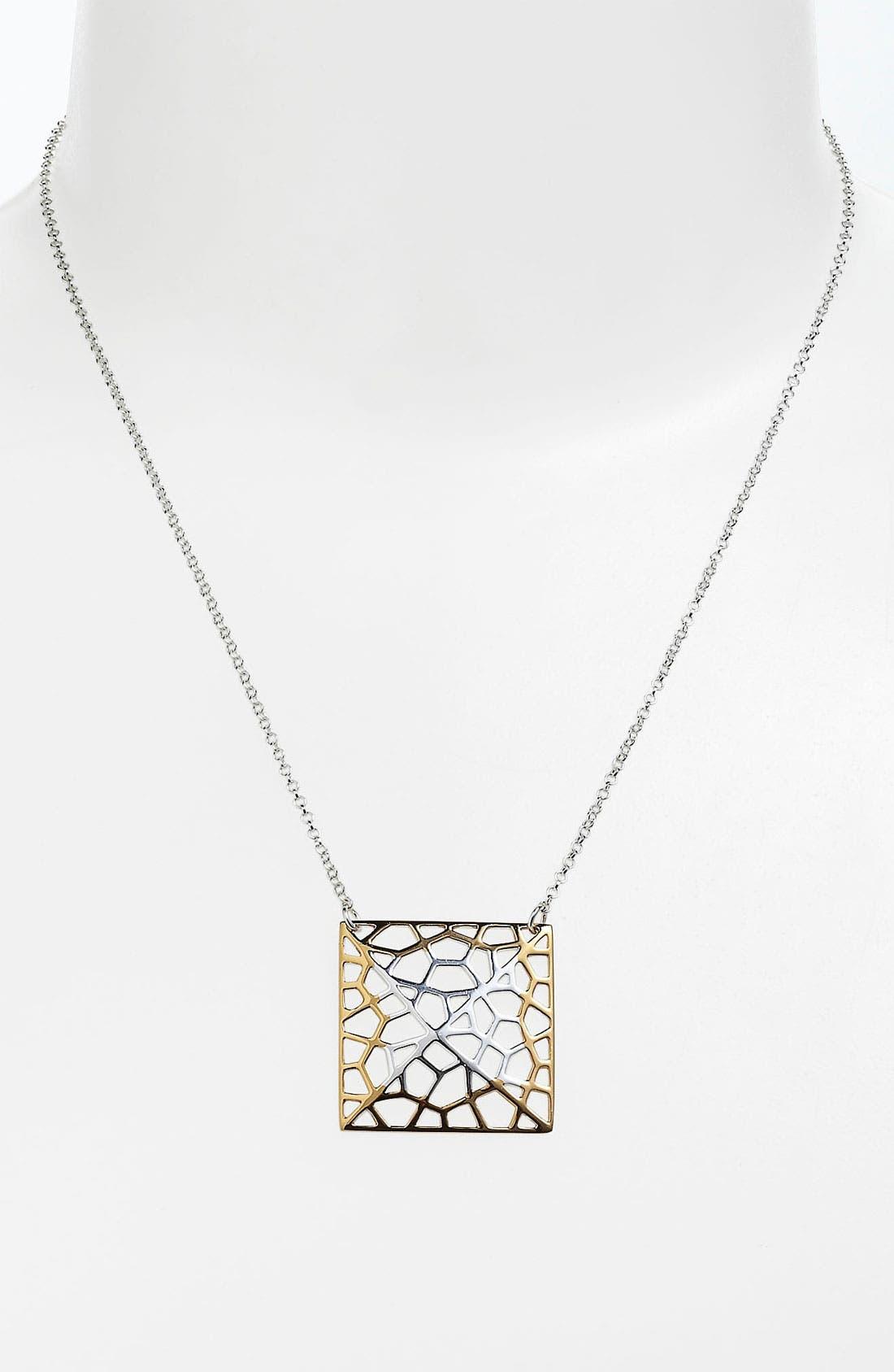 Alternate Image 2  - Argento Vivo 'Prism' Medium Pendant Necklace