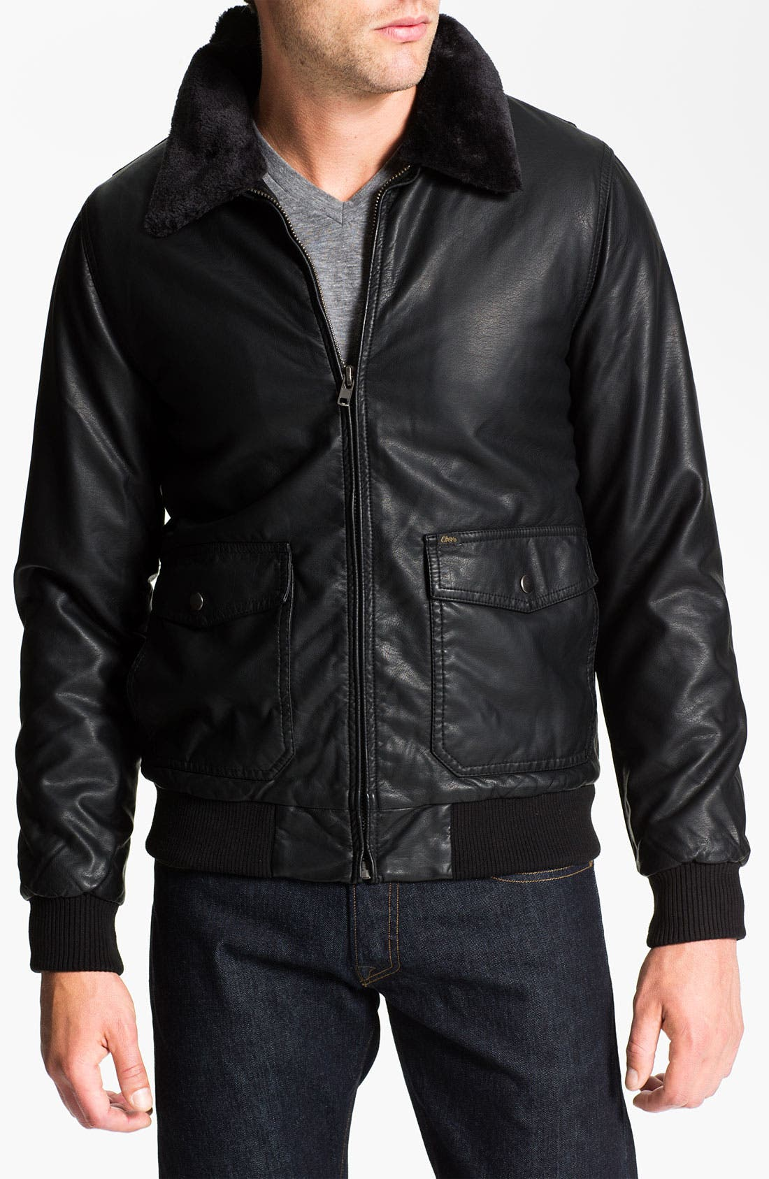 Alternate Image 1 Selected - Obey 'Downtown' Bomber Jacket