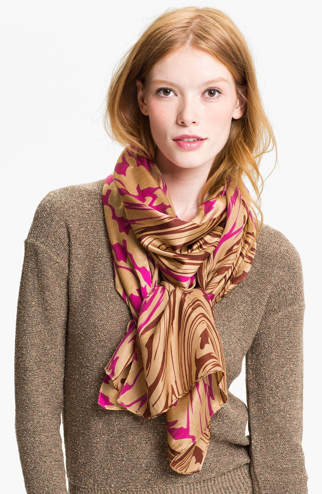 Alternate Image 1 Selected - Echo 'Houndstooth Swirl' Scarf
