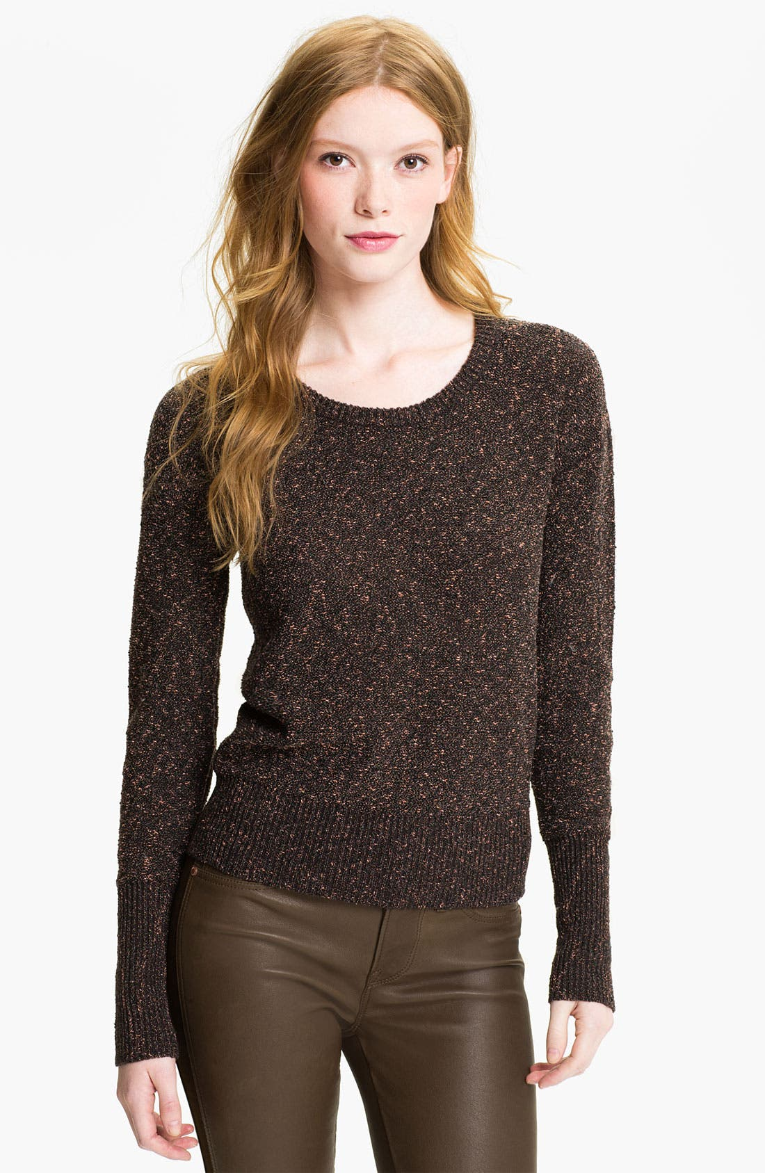 Alternate Image 1 Selected - MARC BY MARC JACOBS 'Sparkle Tweed' Sweater