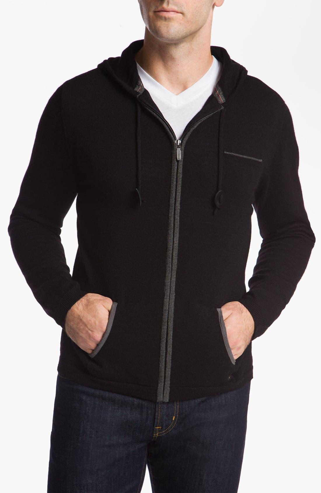 Alternate Image 1 Selected - 7 Diamonds 'King's Island' Zip Hooded Sweater