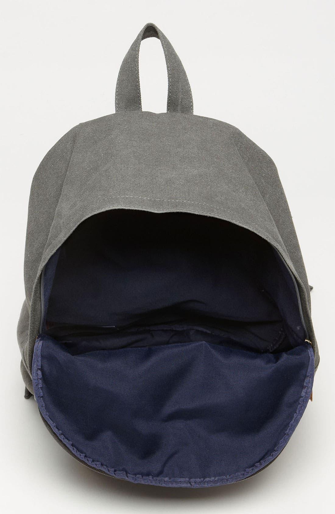Alternate Image 3  - Topman Washed Canvas Backpack