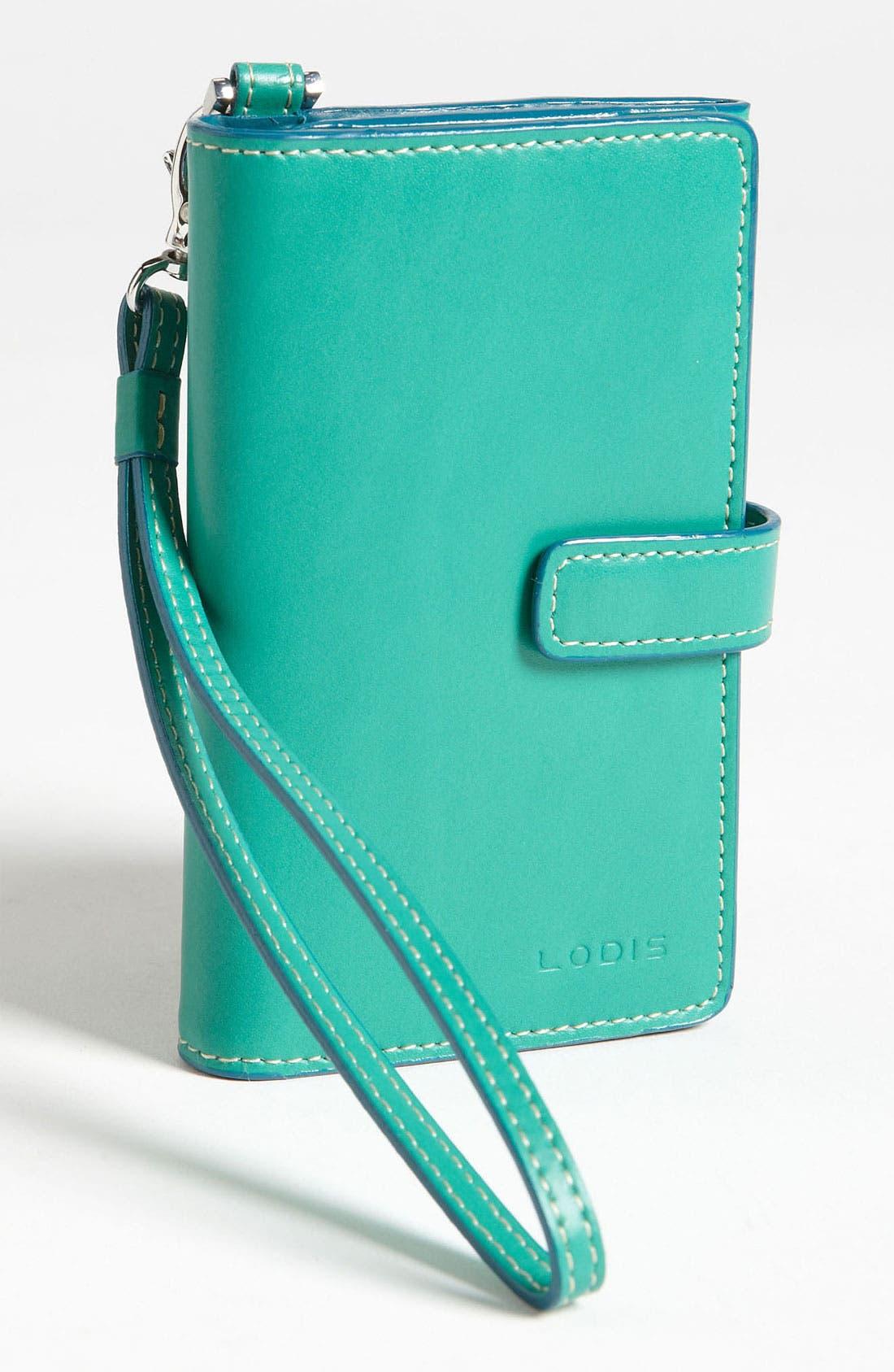 Main Image - Lodis 'Audrey - Cassie' Phone Wallet