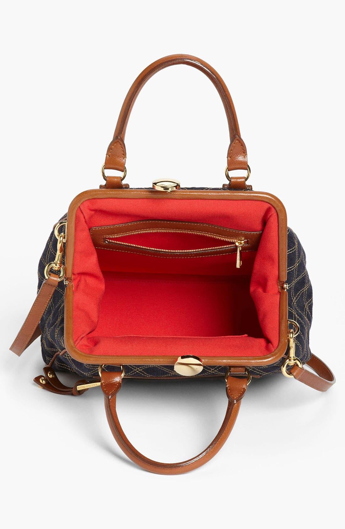 Alternate Image 3  - MARC JACOBS 'Mini Denim' Stam Bag