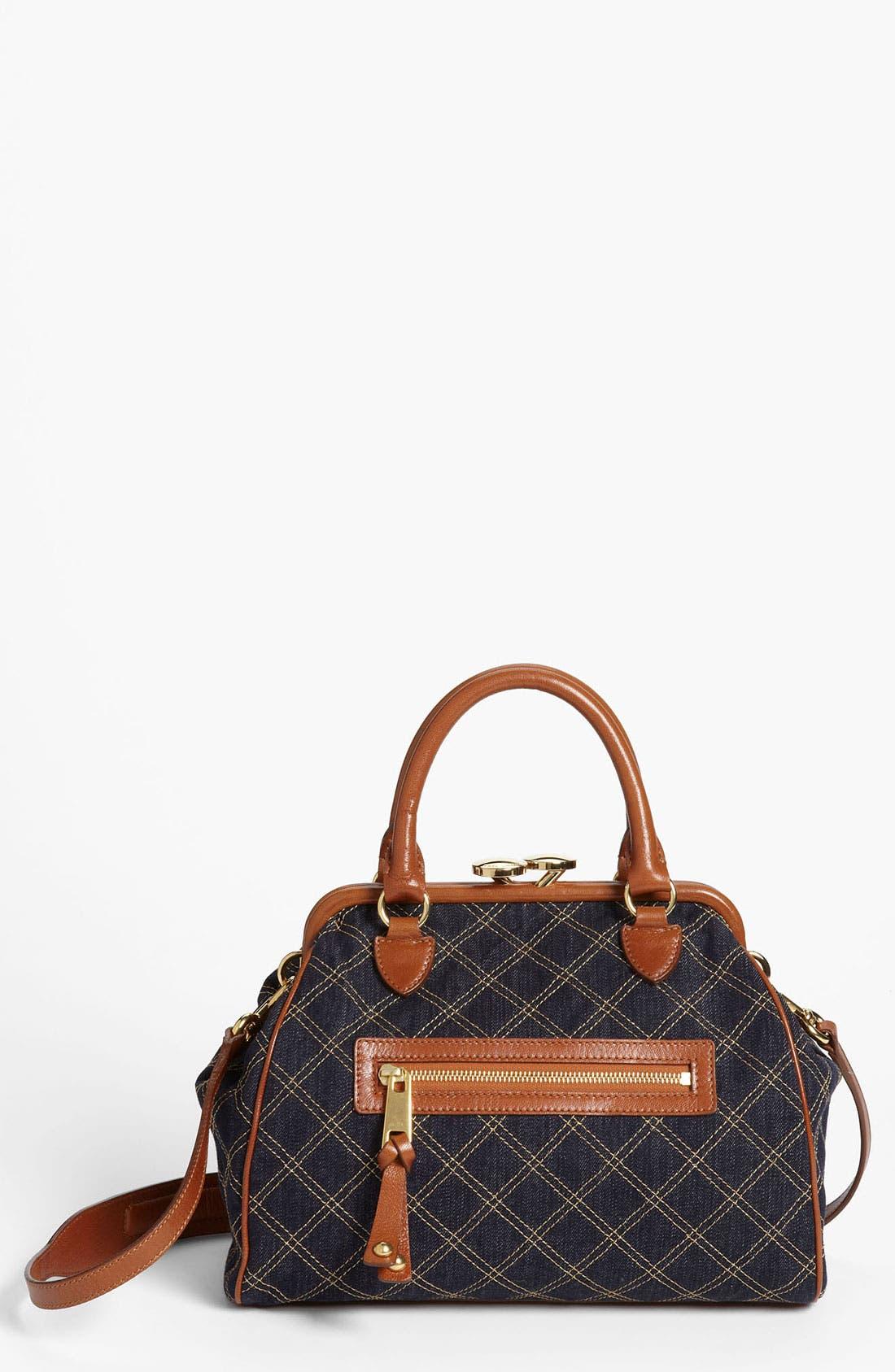 Main Image - MARC JACOBS 'Mini Denim' Stam Bag