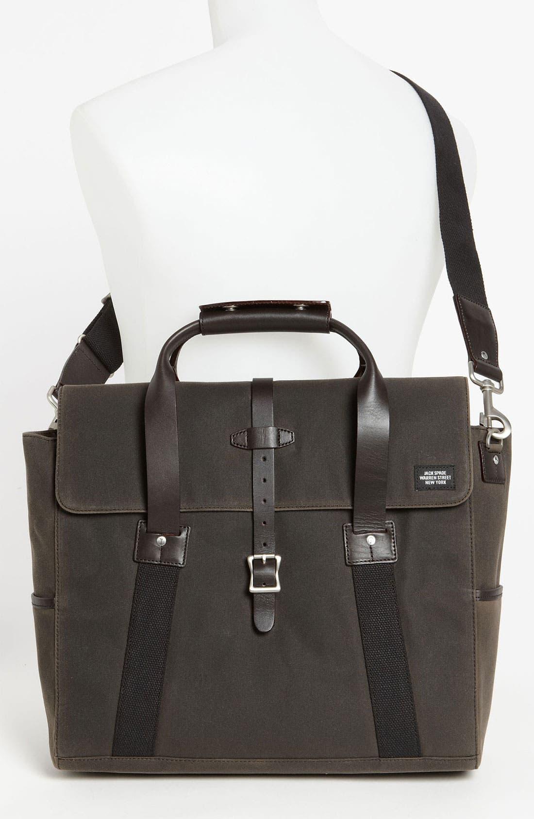 Alternate Image 4  - Jack Spade 'Waxwear' Briefcase