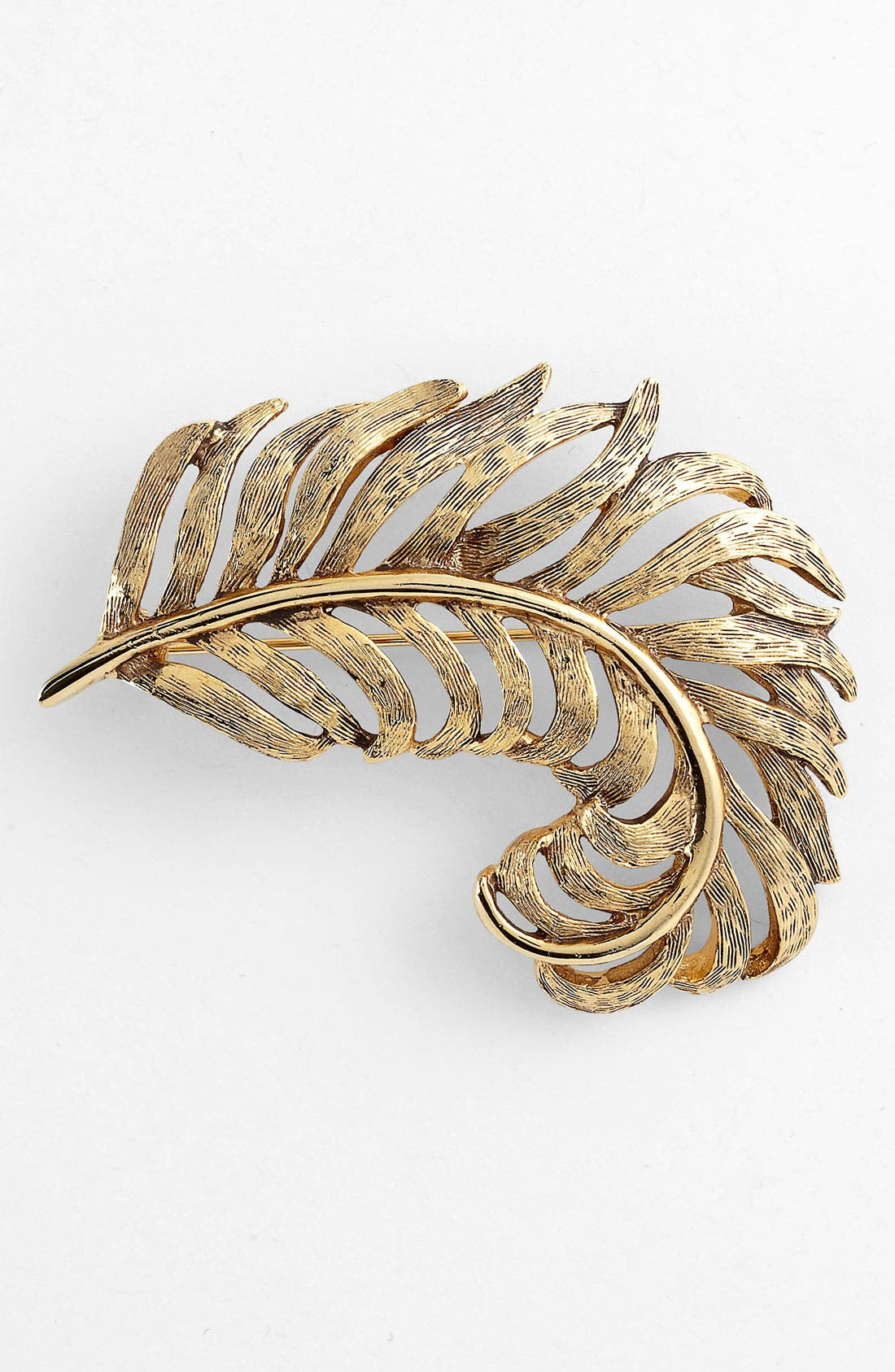Main Image - Nordstrom Feather Brooch