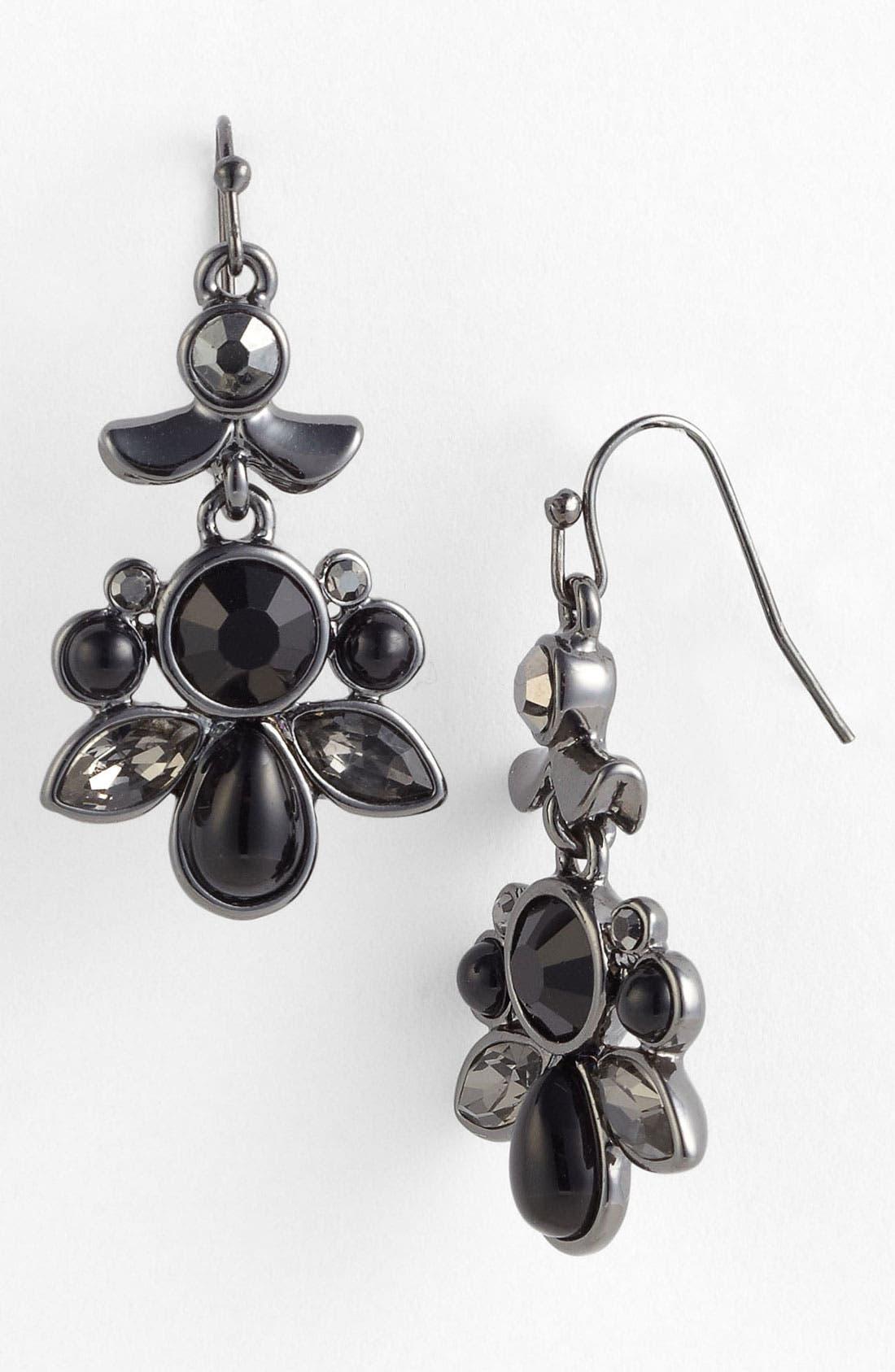 Alternate Image 1 Selected - Nordstrom 'Dark Glamour' Drop Earrings