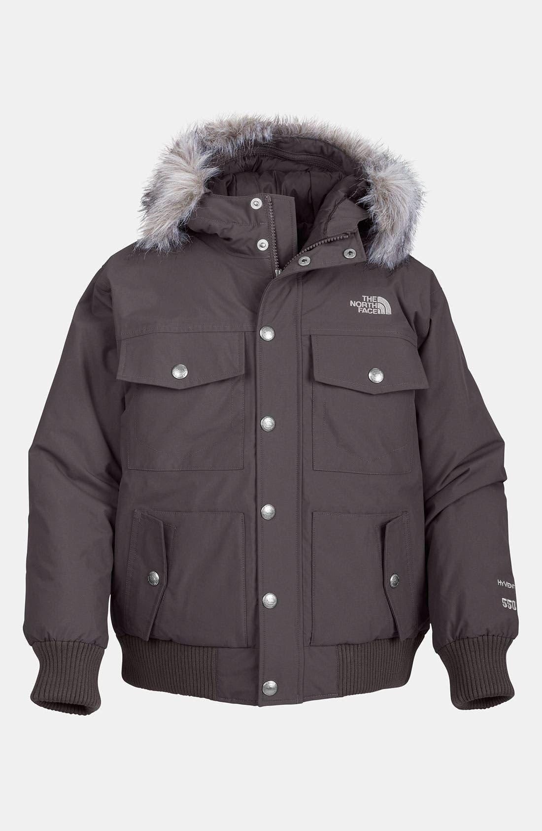 Alternate Image 1 Selected - The North Face 'Gotham' Down Jacket (Big Boys)