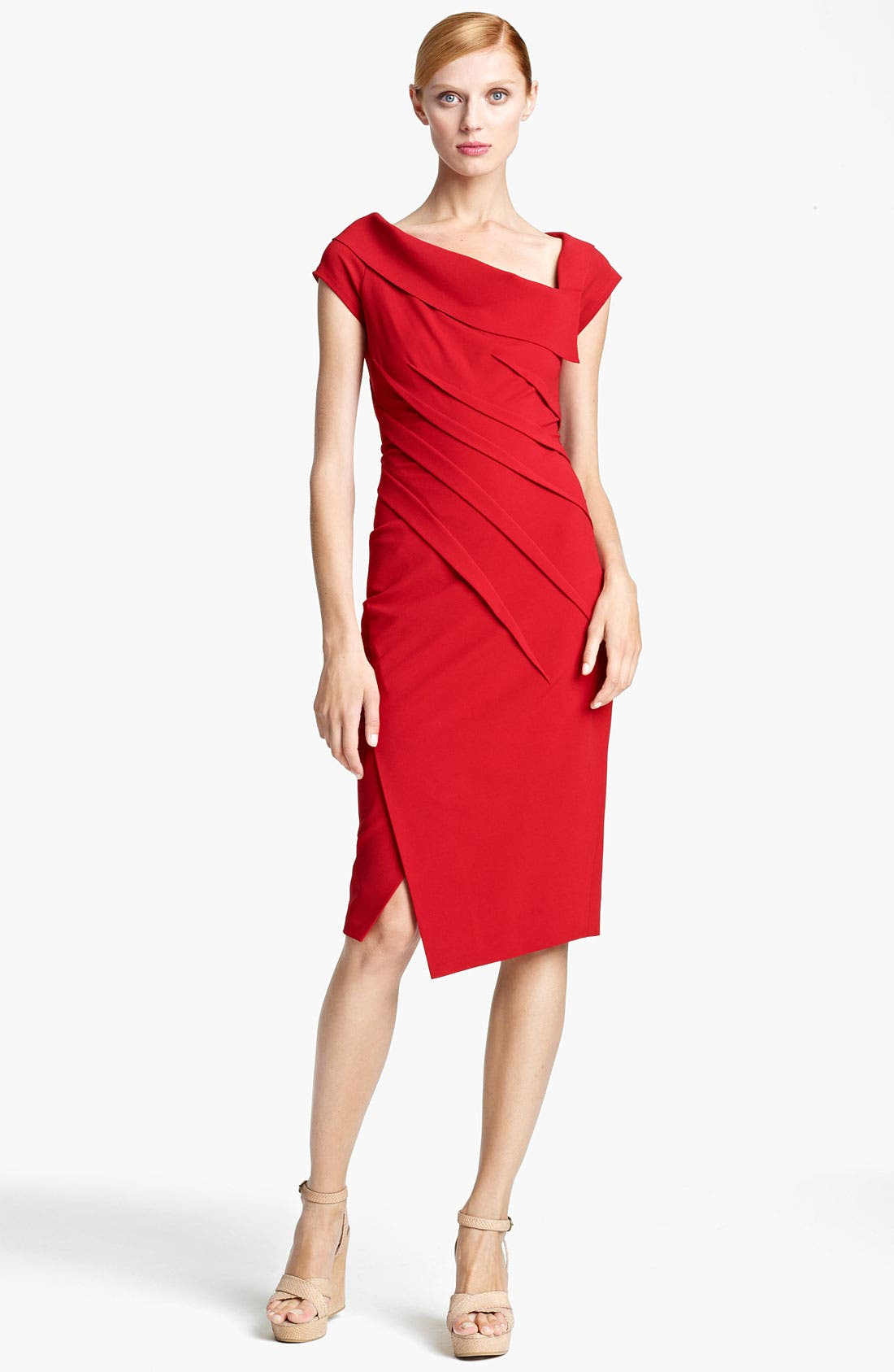 Alternate Image 1 Selected - Donna Karan Collection Matte Jersey Dress