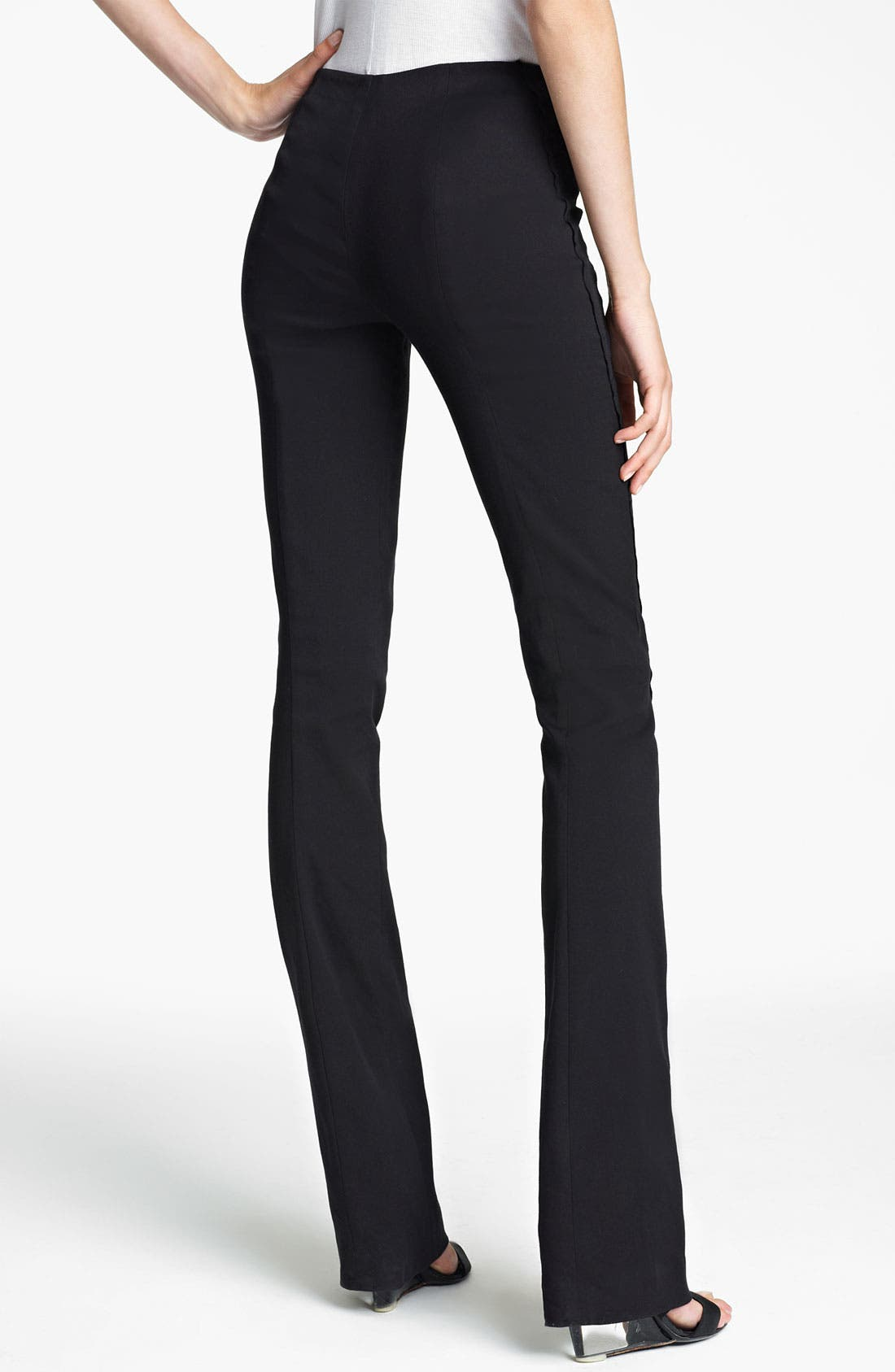 Alternate Image 2  - Donna Karan Collection Seamed Bootcut Pants
