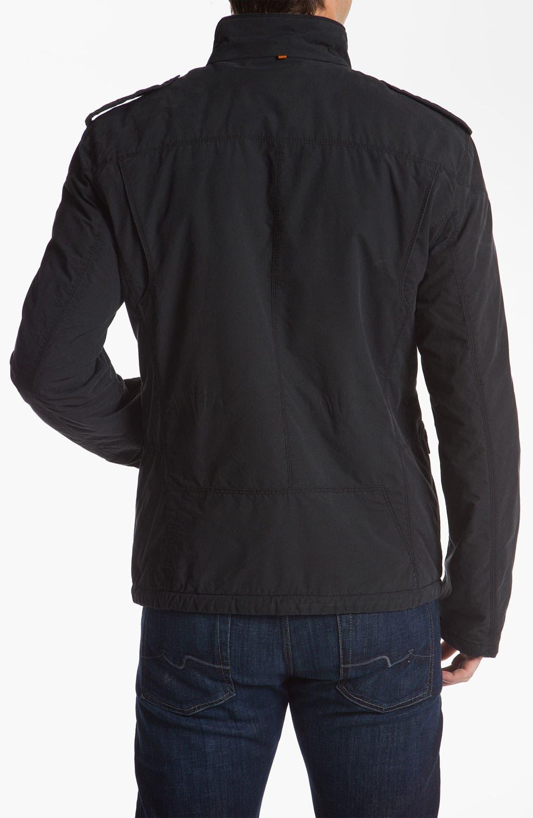 Alternate Image 2  - BOSS Orange 'Osoda1-W' Washed Cotton Blend Jacket