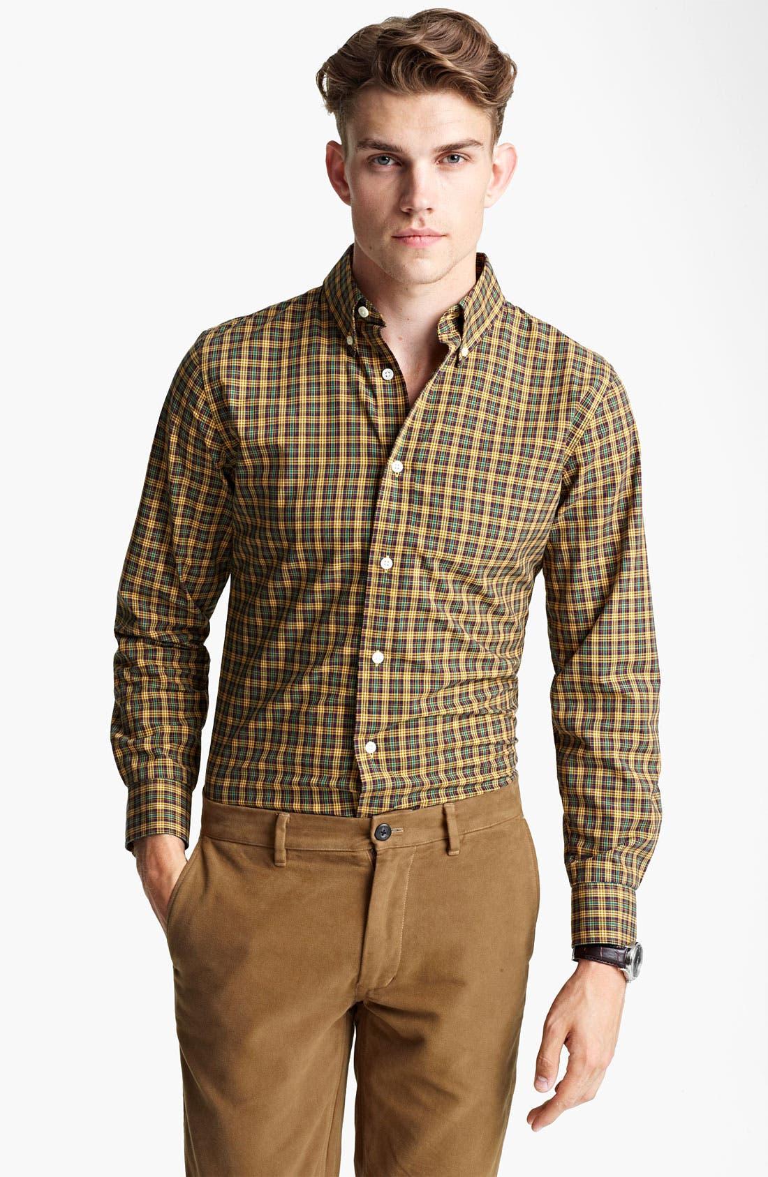 Alternate Image 1 Selected - Jack Spade 'Nolen' Check Woven Shirt