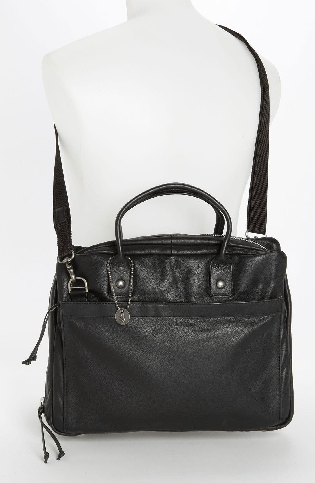 Alternate Image 4  - John Varvatos Star USA Leather Briefcase