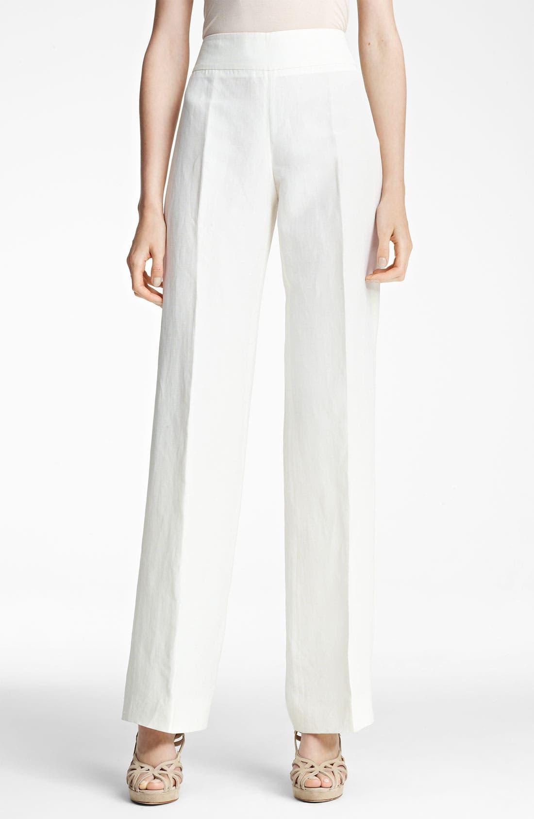 Main Image - Armani Collezioni Wide Leg Pants