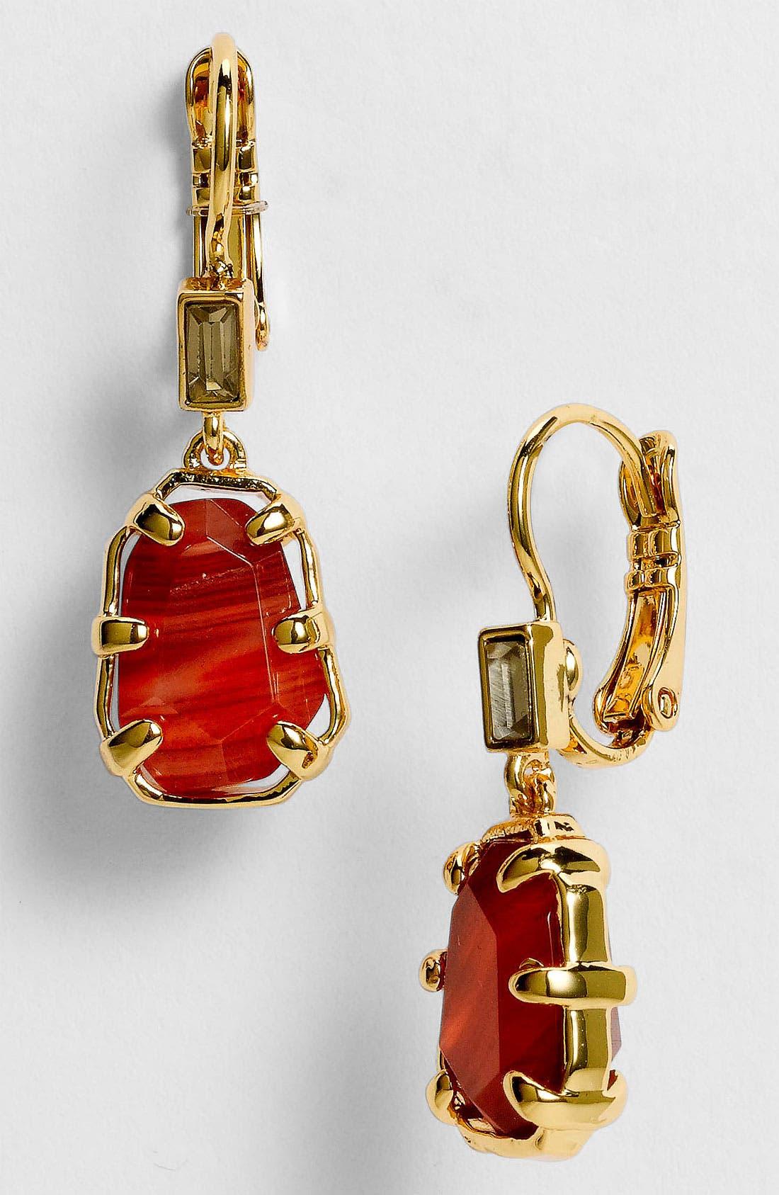 Main Image - kate spade new york 'set in stone' drop earrings