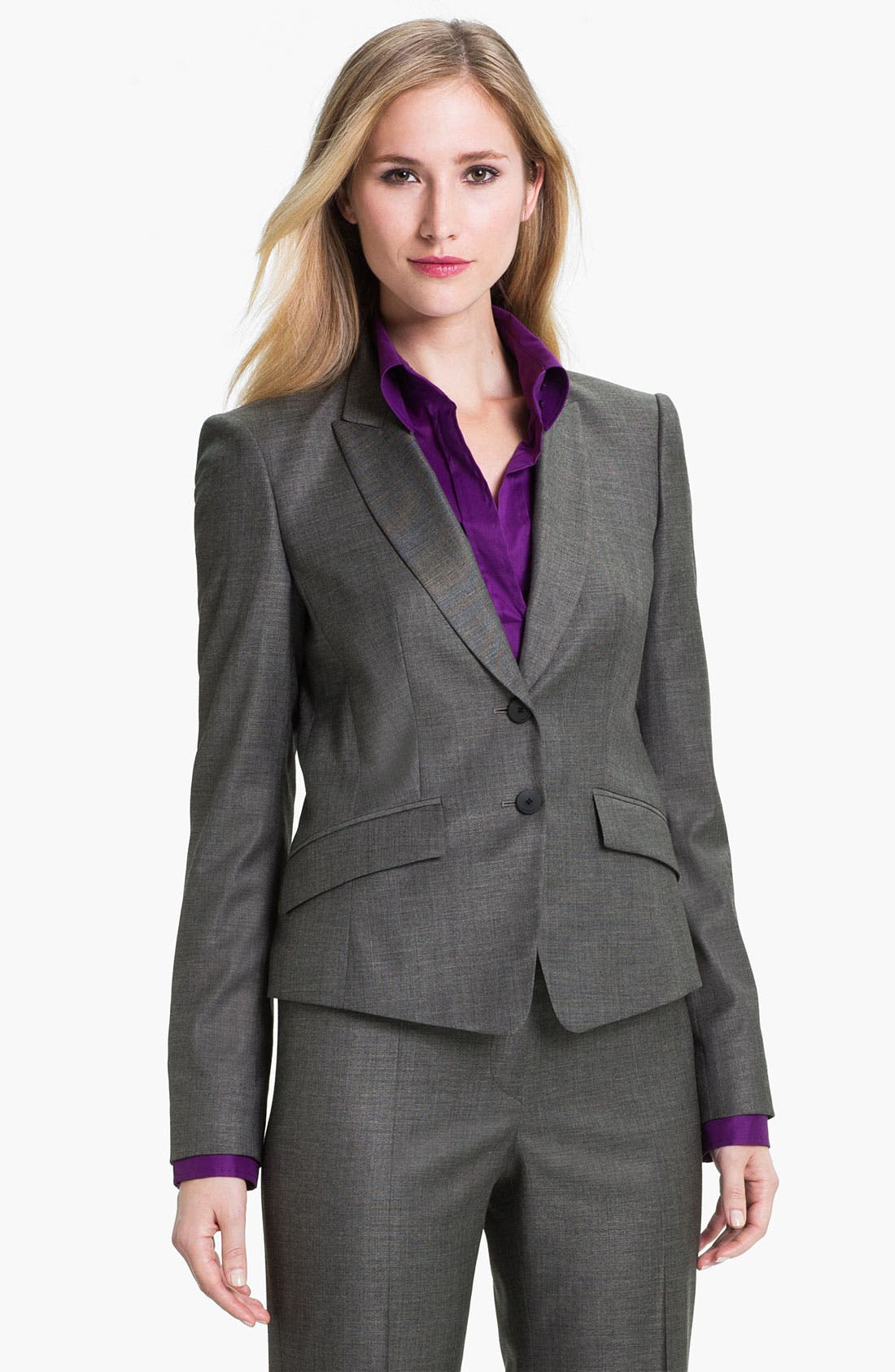 Alternate Image 1 Selected - BOSS Black 'Juljanella' Jacket