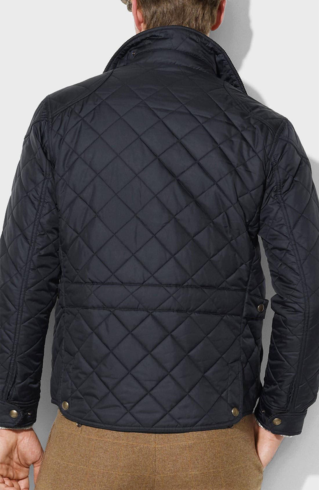 Alternate Image 2  - Polo Ralph Lauren 'Cadwell' Classic Fit Quilted Bomber Jacket
