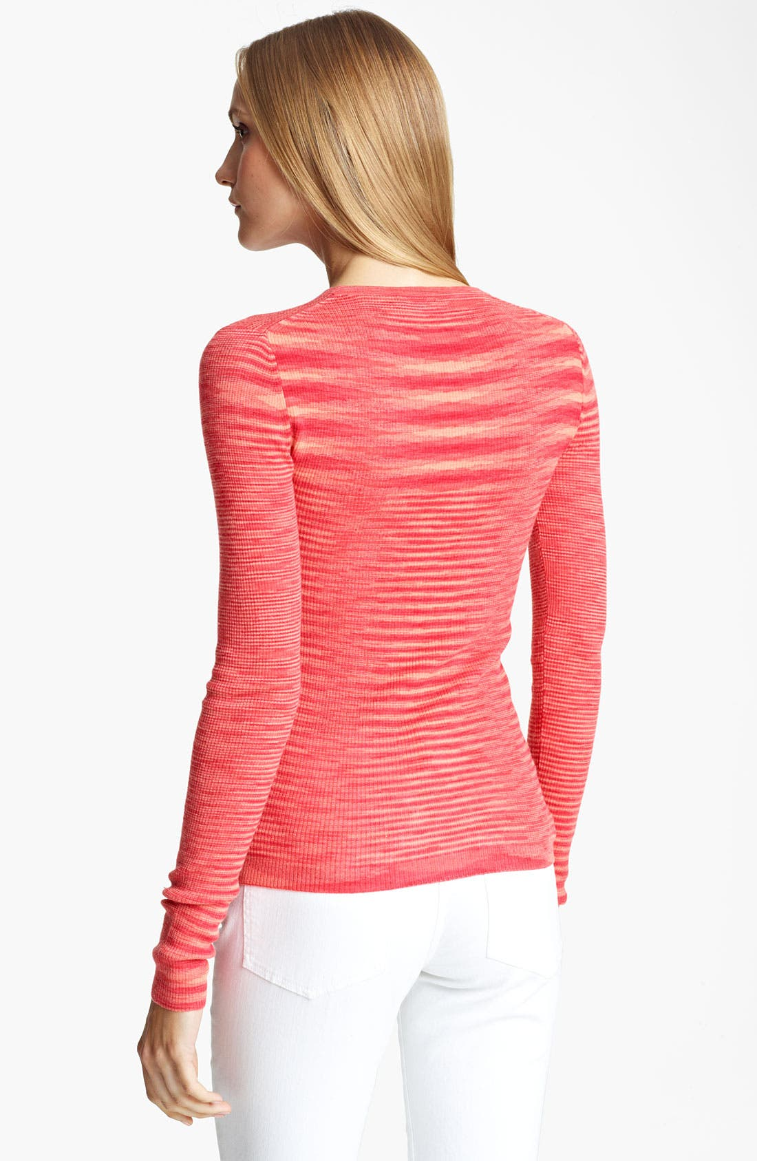 Alternate Image 2  - Michael Kors Space Dye Cashmere Sweater
