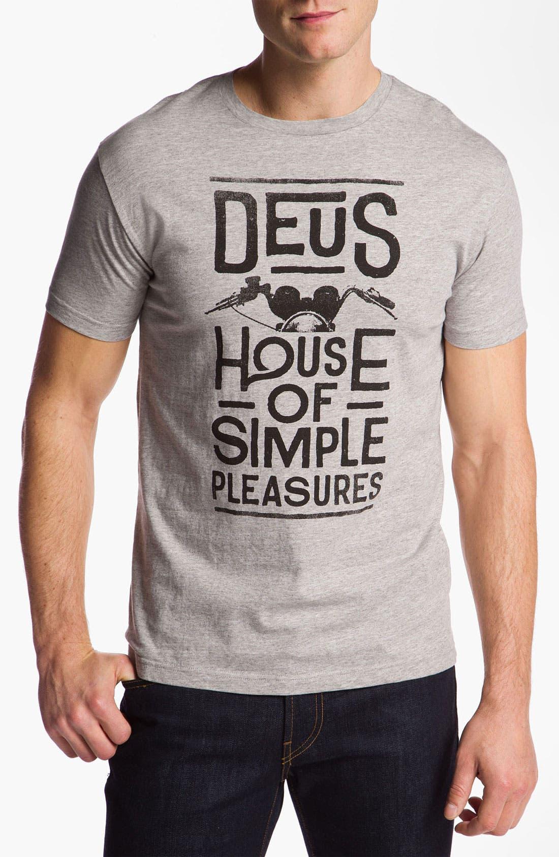 Alternate Image 1 Selected - Deus Ex Machina 'House of Simple Pleasures' T-Shirt